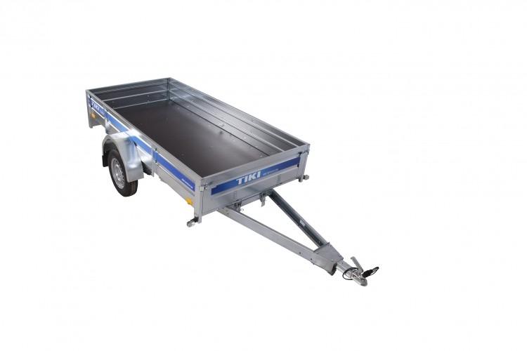 Släpvagn Tiki CS265-R, totalvikt 650 kg, obromsad