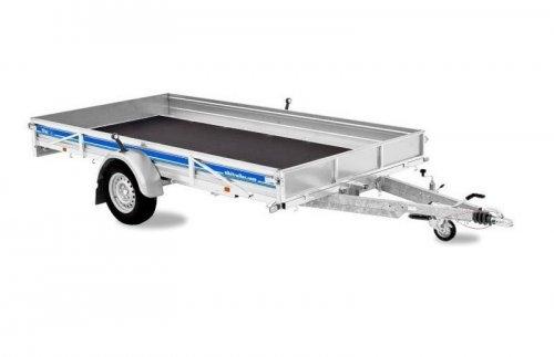 Släpvagn Tiki CP365 RB, Totalvikt 1300 kg, bromsad